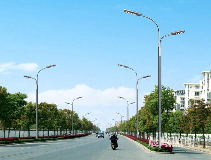 高低臂市电LED路灯