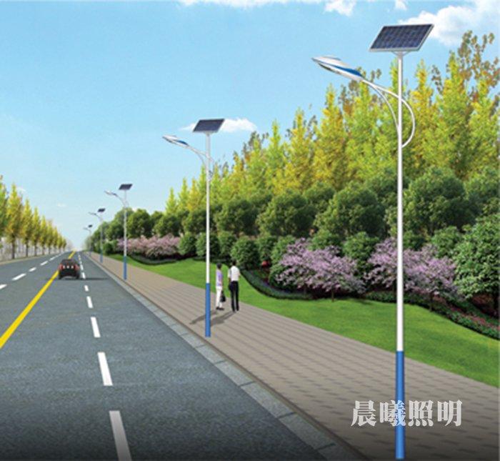 县市道路6米太阳能路灯